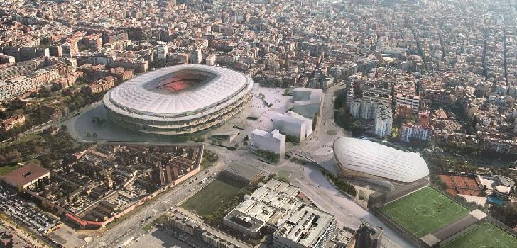 Colau aprueba el proyecto de reparcelación del Espai Barça