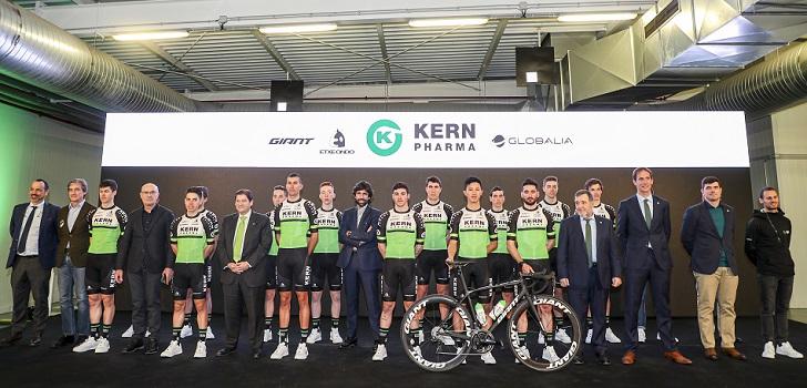 Kern Pharma, patrocinador principal del un equipo de UCI Continental