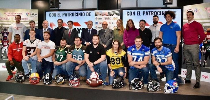 La Liga Nacional Fútbol Americano arranca con nuevos sus patrocinadores acc8fbdaeea