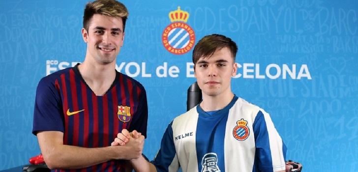 Los dos equipos de Barcelona disputarán un partido de Rocket League, un videojuego que combina fútbol y vehículos, el próximo jueves.