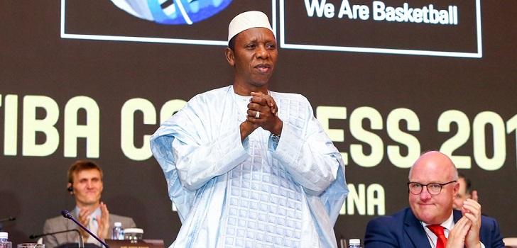 La Fiba nombra presidente al africano Hamane Niang en plena apuesta por el continente