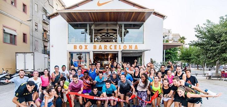 Nike se ha propuesto dinamizar la oferta deportiva en la Barceloneta, donde hace dos años inauguró un club social