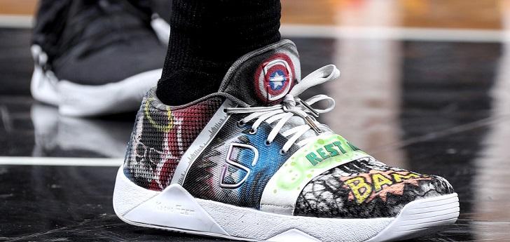 Derecho lanzamiento terremoto  New Balance agita la batalla por las 'sneakers' en la NBA | Palco23