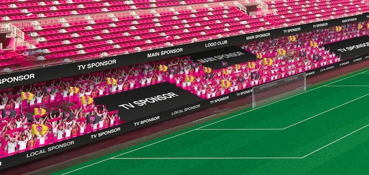 Molcaworld presenta su propuesta para ambientar los estadios durante el Covid-19
