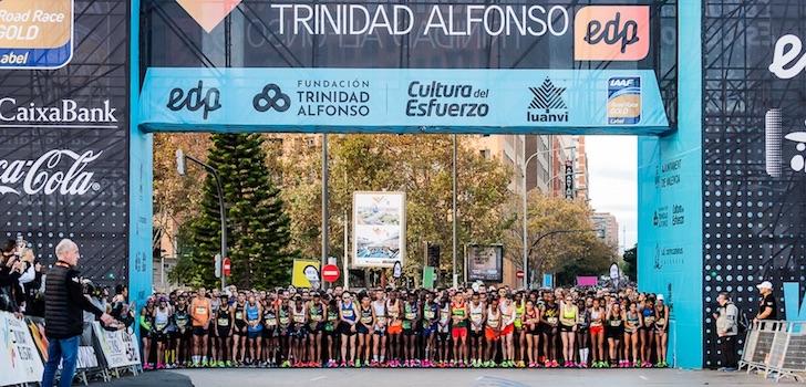 El Maratón de Valencia contará con 18.000 corredores y el Medio, con 12.000 corredores
