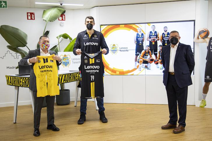 CB Canarias tiene nuevo 'naming': Lenovo, patrocinador principal