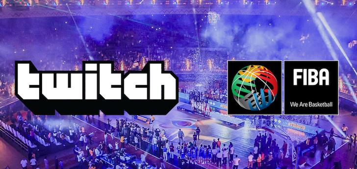 Fiba se convierte en la primera federación deportiva que firma con Twitch