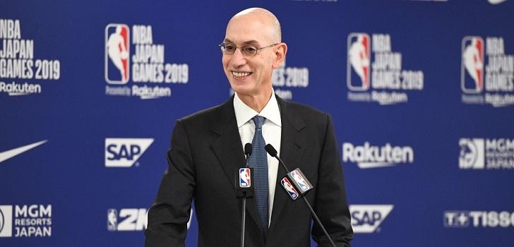 La NBA se abre a la expansión con dos posibles nuevas franquicias