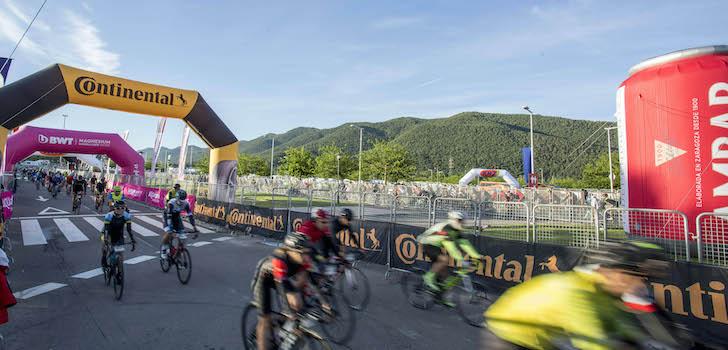 La pinza de Continental: La Vuelta y Quebrantahuesos para convencer al ciclista español