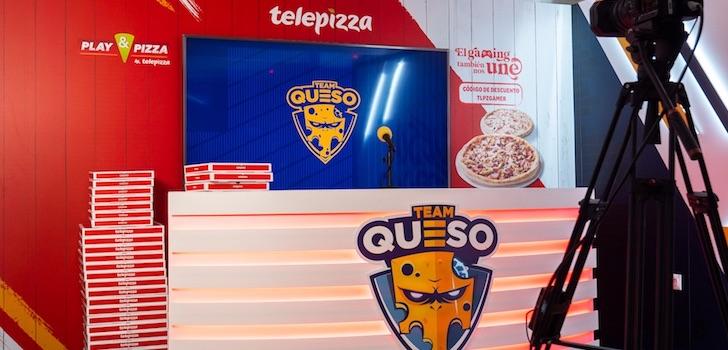 Telepizza amplía su patrocinio con Team Queso un año más