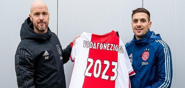 El Ajax renueva una temporada más con Ziggo, su patrocinador principal