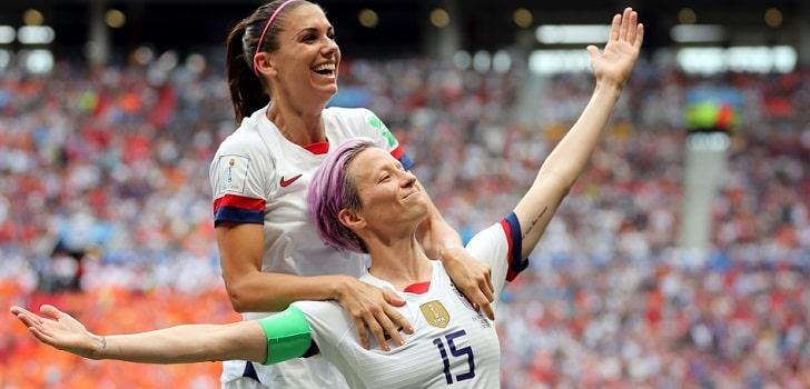 Las jugadoras del US Soccer reclaman 66 millones de dólares por discriminación