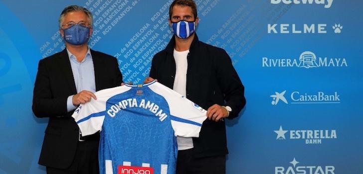 El RCD Espanyol alarga su acuerdo de patrocinio con Innjoo un año más