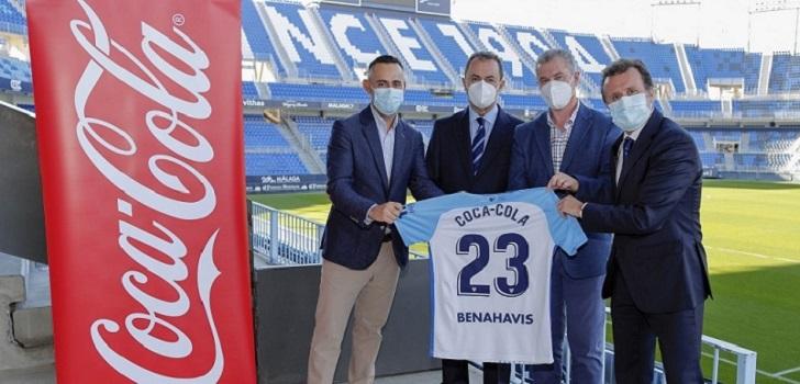El Málaga CF renueva su patrocinio con Coca-Cola hasta la temporada 2022-2023