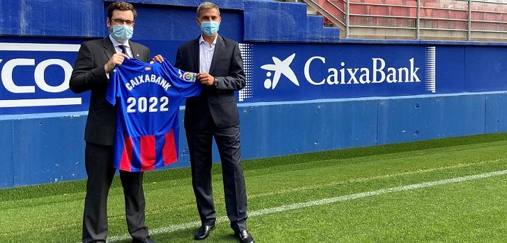 La SD Eibar seguirá contando con el patrocinio de CaixaBank hasta 2022