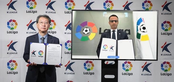 El fútbol español abre fronteras: la Federación se alía con México y Laliga, con Corea del Sur