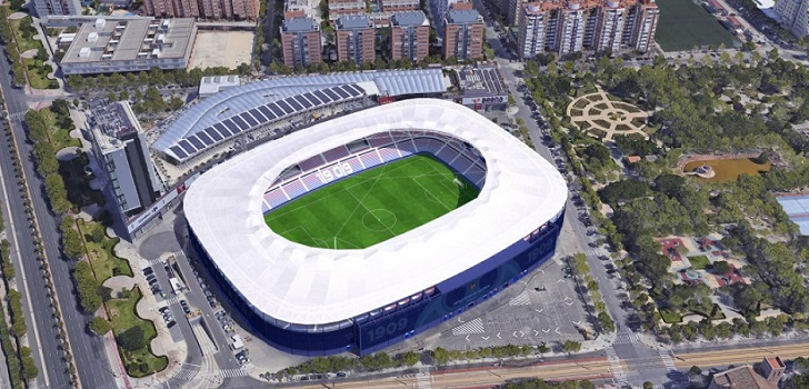 El Levante prevé abrir su estadio el 25 de octubre