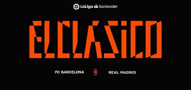 LaLiga crea un logotipo para 'El Clásico' tras el no europeo a registrar la marca