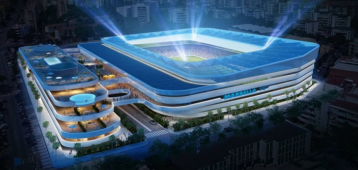 El Marbella FC de Segunda División B construirá un estadio para 18.000 espectadores