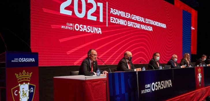 Los socios de Osasuna votan a favor del acuerdo entre LaLiga y CVC