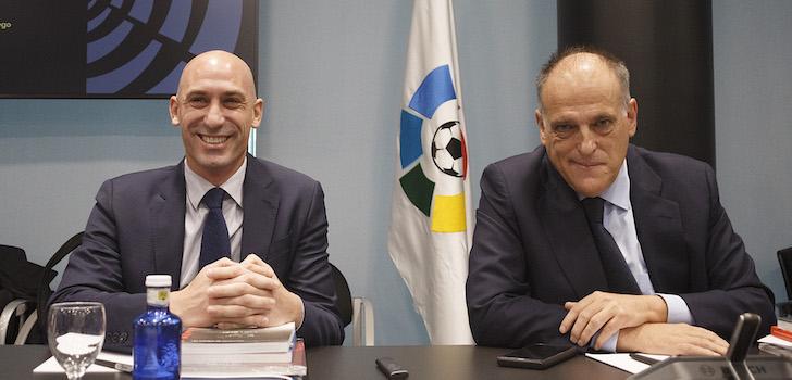 LaLiga no acudirá a más reuniones con la Rfef para consensuar una posición frente al Covid-19