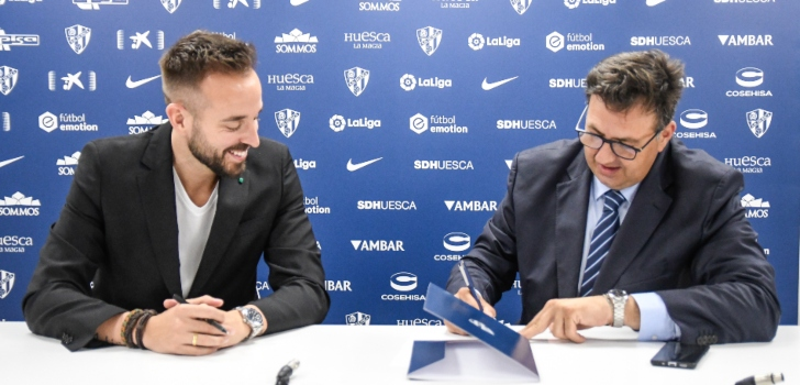 La SD Huesca vestirá de Nike hasta la 2024-2025 a través de Fútbol Emotion