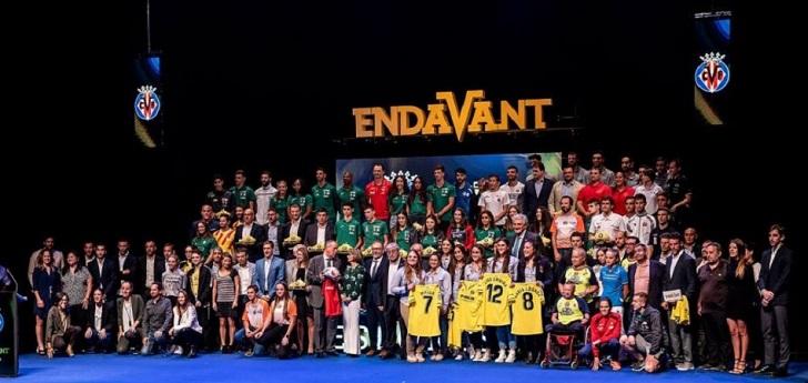 El Villarreal, con el deporte en Castellón