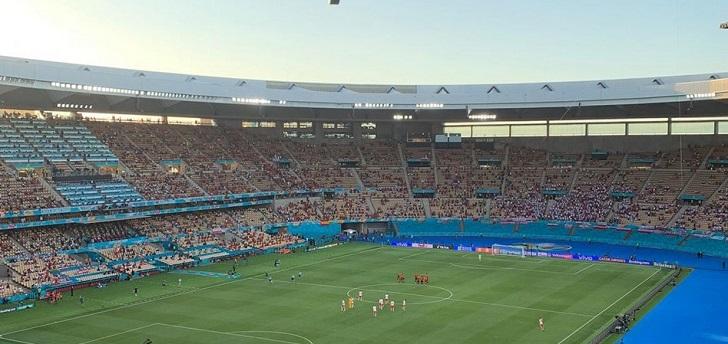 La Uefa abona al Estadio de La Cartuja 800.000 euros por el uso de las instalaciones en la Euro