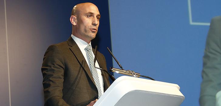 Rubiales, único candidato a presidir la Federación Española de Fútbol