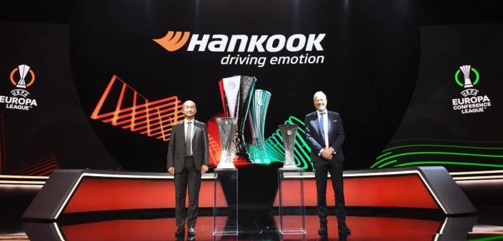 La Uefa renueva su alianza con Hankook Tire hasta 2024