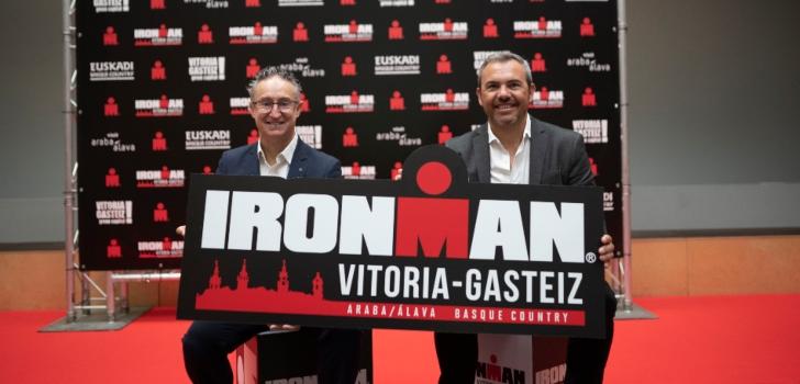 El Ironman Vitoria-Gasteiz contará con mil participantes