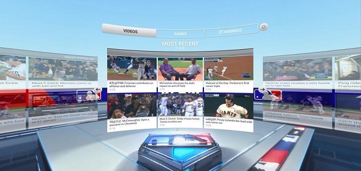 La MLB se lanza a la carrera por la realidad virtual