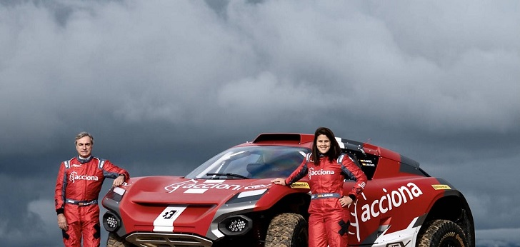 Santander entra en la Extreme E con el patrocinio del equipo Acciona