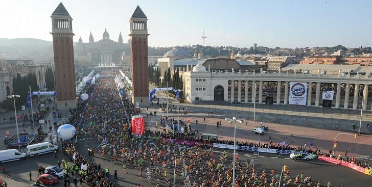 La nueva Maratón de Barcelona coge color para 2021
