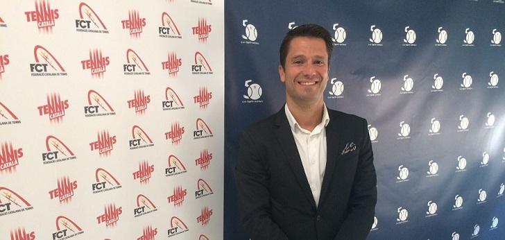 Jordi Tamayo, reelegido presidente de la Federación Catalana de Tenis