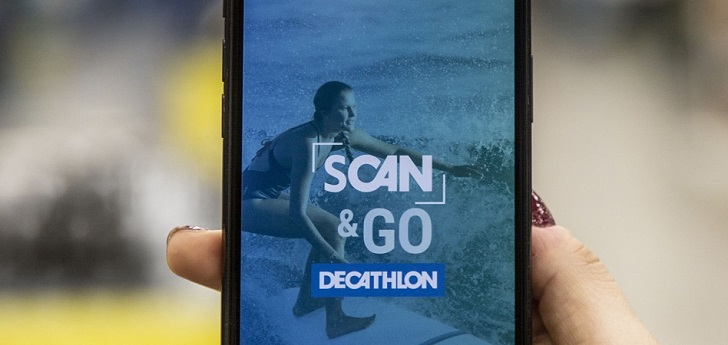 Decathlon se inspira en Amazon: lanza el servicio 'Scan&Go'