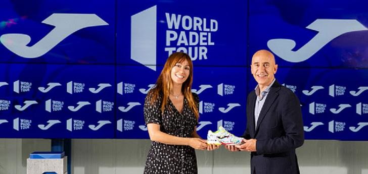 Joma renueva su acuerdo con World Padel Tour como calzado oficial