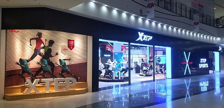 Xtep esquiva el golpe y mantiene ventas en el año de la pandemia