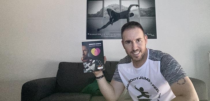 Ernesto Acosta, creador de programas de fitness como Gluteboom o Bodyjump, ha presentado su libro Dejando Huellas