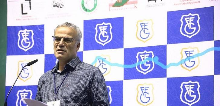 Manu Díaz, nuevo presidente de la Federación Guipuzcoana de Fútbol