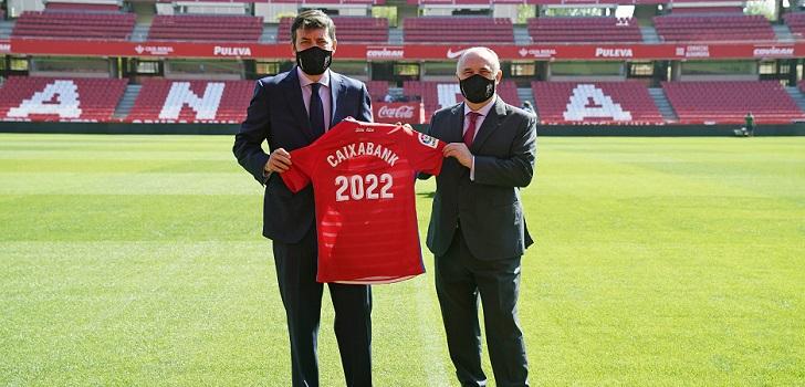 Granada CF 'ata' a CaixaBank hasta 2023