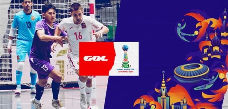 Gol se queda con los derechos del Mundial de Fútbol Sala