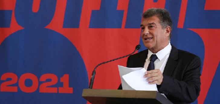 Joan Laporta, precandidato a la presidencia del FC Barcelona