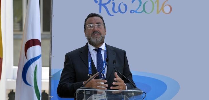 Miguel Carballeda renovará como presidente del Comité Paralímpico Español