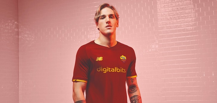 La AS Roma 'vende' su camiseta a Digitalbits por 36 millones