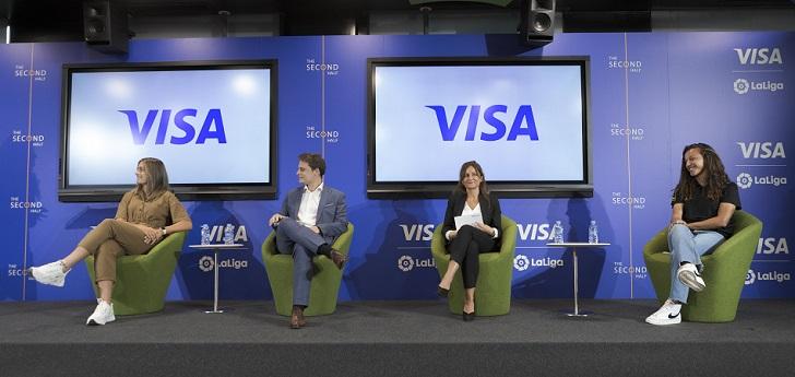 LaLiga y Visa apuestan por una carrera más allá de los terrenos de juego