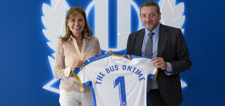 El CD Leganés firma 'OnTime' con su nuevo patrocinador