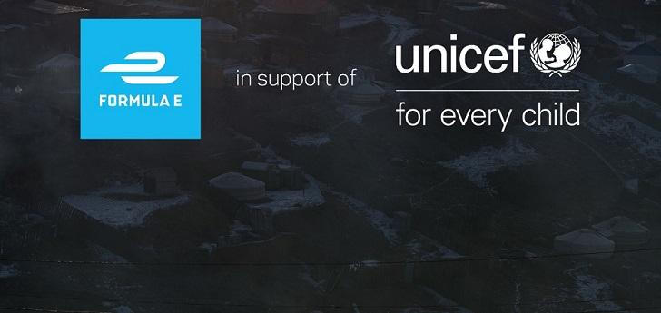 La Fórmula E y Unicef, juntos contra el cambio climático