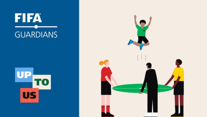 La Fifa, con los jóvenes futbolistas