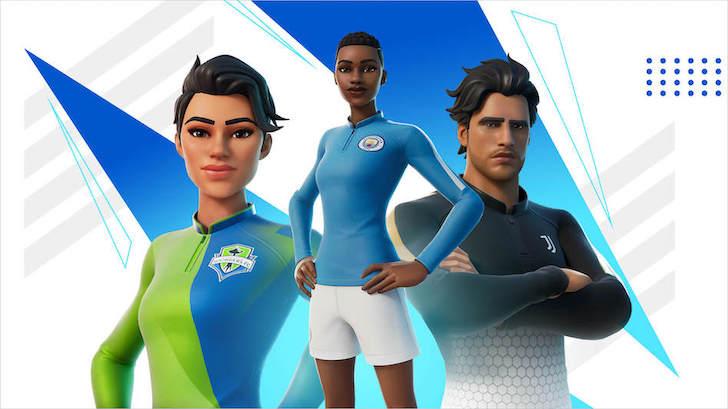 El fútbol llega a Fortnite